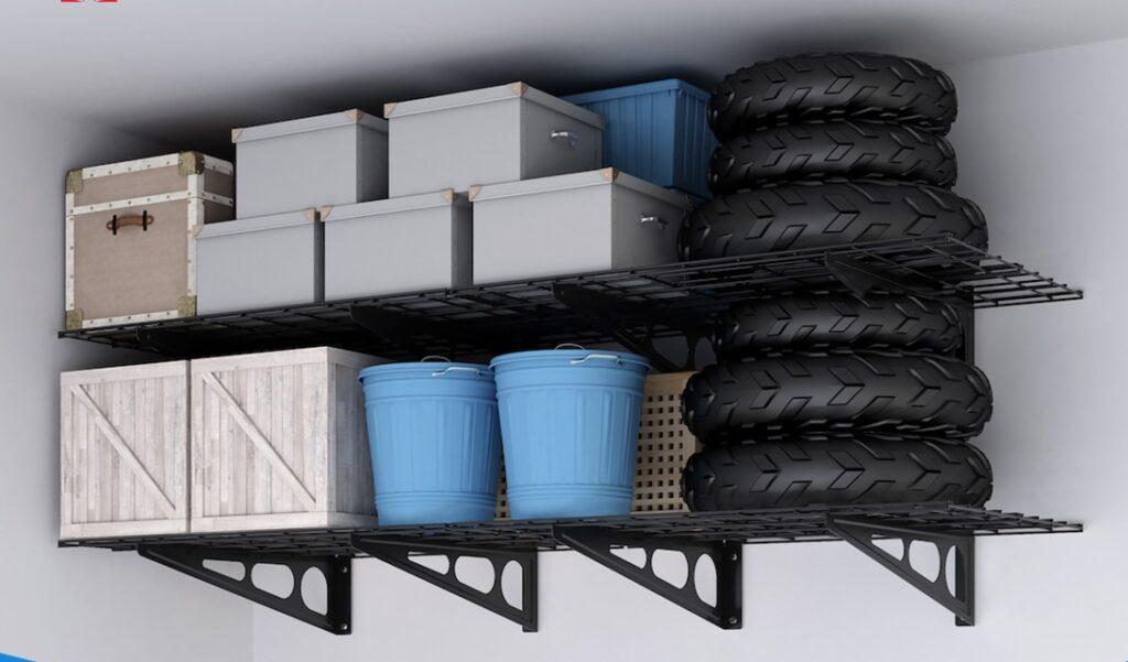 Overhead Garage Storage Racks Diy Remodel Guy